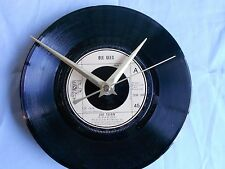 "BEE GEES-JIVE TALKIN - 7""single recycled vinyl record clock"