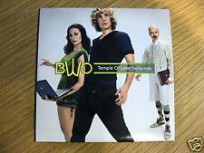 BWO Bodies Without Organs TEMPLE OF LOVE POP MIXES Euro Import 4-trk Remix CD