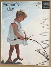 Woman's Day August 1956 magazine issue vintage retro sewing Du Bois Hitchcock