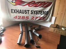 "FORD RANGER PX 3.2L 3"" 409 STAINLESS STEEL EXHAUST WITH CAT AND LUKEY MUFFLER"