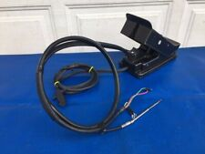 Evinrude Johnson OMC 12V Trolling Motor Foot Control Pedal W/ Harness & Cable