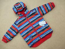 NEW Reversible JOJO MAMAN BEBE WATERPROOF RAIN JACKET 3-4y NWT Coat Fleece Lined