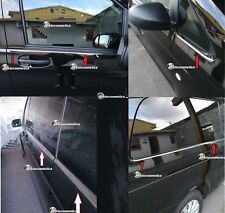 Mercedes Vito W447  V 220 Modanature cornici finestrini acciaio cromo extralong