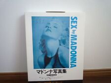 MADONNA SEX BOOK SEALED UNOPENED BOX with CD & COMIC  Japan ver.