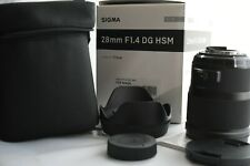 Sigma Lens 28 mm f/ 1.4 DG HSM ART