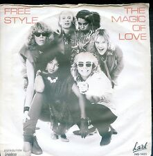 7inch FREE STYLE the magic of love HOLLAND 1983 EX