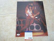 Slash Guns & Roses Signed Autographed 11x14 Photo PSA Certified #7