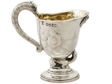 1850-1899 Antique Solid Silver Pitchers/Jugs