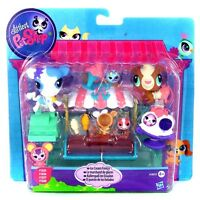 LITTLEST PET SHOP A3801/A4595 ICE CREAM FRENZY SET NEU & OVP!