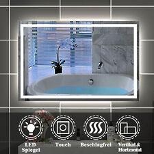 Badspiegel LED Spiegel Touch Anti-Beschlag 80/90/100/110/120/140/150/160 cm