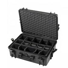 MAX430CAM - Equipment Case wasserdicht, schwarz, inklusiver Kamerapolsterung, 43
