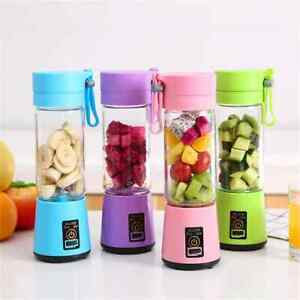 350ml Portable Juicer Electric USB Rechargeable Smoothie Blender Machine Mixer