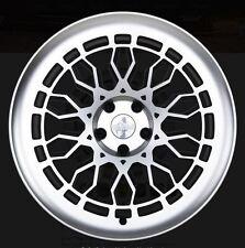 19X8.5 Radi8 A10 5x112 +45 Black Rims Fits audi a3 tt(MKII) gti (MKV,MKVI)
