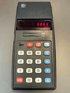 Vintage 1976 Commodore (CBM) Calculator 796M - 8 digits red led