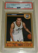 2013-14 Panini NBA Hoops Gold and Redback #287 Rudy Gobert  RC PSA 10 GEM lot$$$