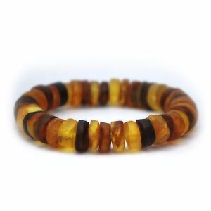 Natural Men's  Baltic Amber Bracelet 18gr