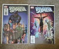 Squadron Supreme #1 & 2 2006 [Straczynski, Gary Frank] Marvel NM