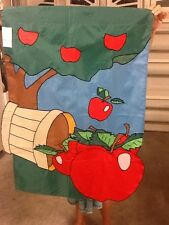 Apples / Apple Basket Farm Handmade Decorative Flag