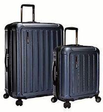 NEW Travelers Choice The Art of Travel 2-piece Hardside Luggage Set, Blue -8L_24