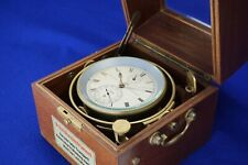 German Glashutter Marine Chronometer