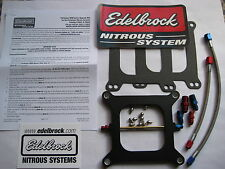 WANT TO WIN? *NEW EDELBROCK PERFORMER RPM HOLLEY NITROUS PLATE KIT 100-250HP