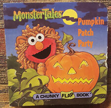 Chunky Book: Pumpkin Patch Party by Sesame Street Staff (1997, Board Book)