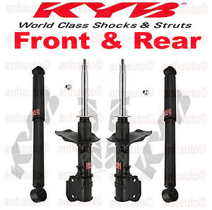 NEW KYB 4 Excel-G Front and Rear Struts Shocks Fits Nissan Infiniti