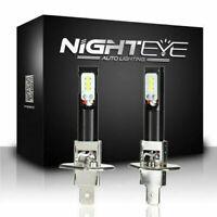 2X H1 160W LED Auto Fernlicht Nebelscheinwerfer DRL Fog Lampe Birnen 6500K Weiß