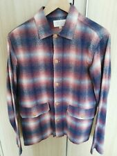 Hawksmill Denim Co Vietnam Over shirt Red Shadow Check