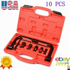 10 pcs Valve Spring Clamp Compressor Kit 5 Size in 1 Set for Cars Motorcycles