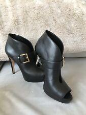 Micheal Kors Black High Heels Sandal Boots