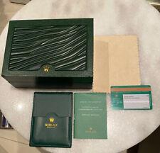 Genunie Rolex Watch Box Green.