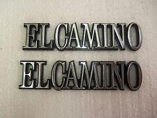 EL CAMINO QUARTER EMBLEMS  2  NEW 1978 - 1987 OP1300.2