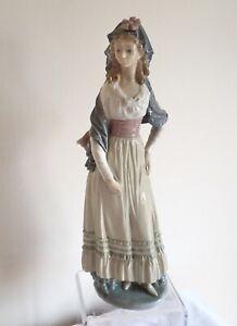 "Vintage Retired 1982-1990 Lladro Porcelain Figurine ""Goya Lady"" 5125"