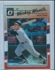 2017 Panini Optic Mickey Mantle Orange Refractor Prizm /199 Yankees