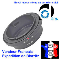 BAGUE DÖRN  ADAPTATION CANON FD -> micro 4/3 OLYMPUS E-P EPL  PANASONIC G1 GF GH