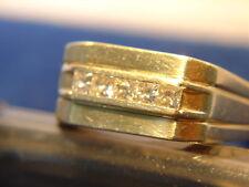 Mans DIAMOND RING 14 K GOLD