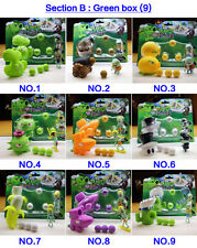 2 Plants vs Zombies Action Figures Kids PVC Shooting Figurines Set Play Game Toy