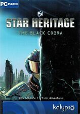 PC DVD-ROM STAR Heritage-The Black Cobra-la Science-Fiction Adventure