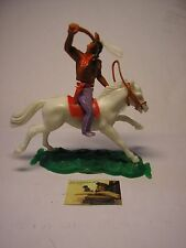 Busta Soldatino Toy Soldier Hong Kong Swoppet Indiano plastica scala 1:32 #3B