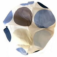 Shower Cap / Hat with Large Dot Pattern Plus Resealable Zip Up Bag