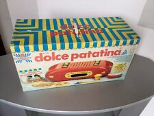1989# KENNER HARBERT DOLCE PATATINA HARBERT CHIPS FRIES MACHINE TOY#NIB