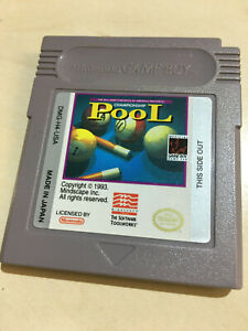 POOL for the Nintendo Game Boy cartridge only