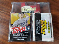 Legends - Baseball unopened packs - factory sealed assorted packs