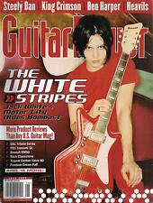 6/03 GUITAR PLAYER magazine  THE WHITE STRIPES cover  Steely Dan King Crimson