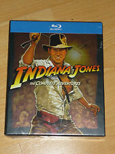 Indiana Jones the Complete Adventure Blu Ray Boxset Region Free