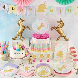 Unicorn Birthday Party Supplies