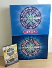 Who wants to be a millionaire junior and DVD board game bundle