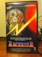 America VHS ex-rental video tape exploitation blaxploitation HTF OOP on DVD