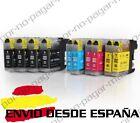 10 CARTUCHOS COMPATIBLES NonOem BROTHER LC121 LC123 DCP-J4110DW DCPJ4110DW
